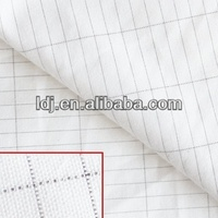 Silver Fiber Antistatic Fabric Electrical Safety Conductive Fabric