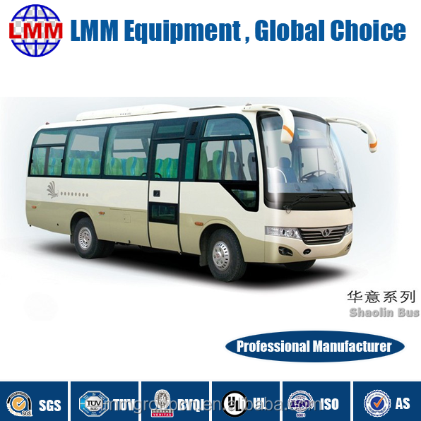 Hot sale dongfeng left hand drive 29 seater coaster mini bus