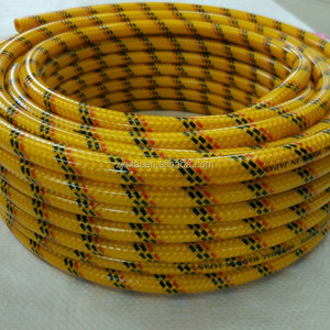 pvc coiled water pipe weaved super spray hose