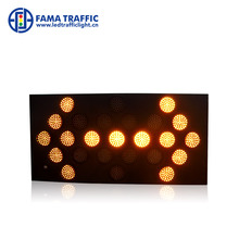 Yellow flashing light Mounted Arrow Board Trailer