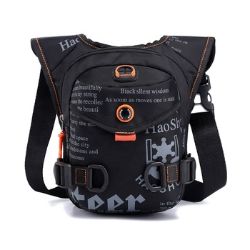 Lightweight Multi-functional Men Crossbody bag Small Waterproof Nylon Fashion Printed Sport Sling Chest Bag