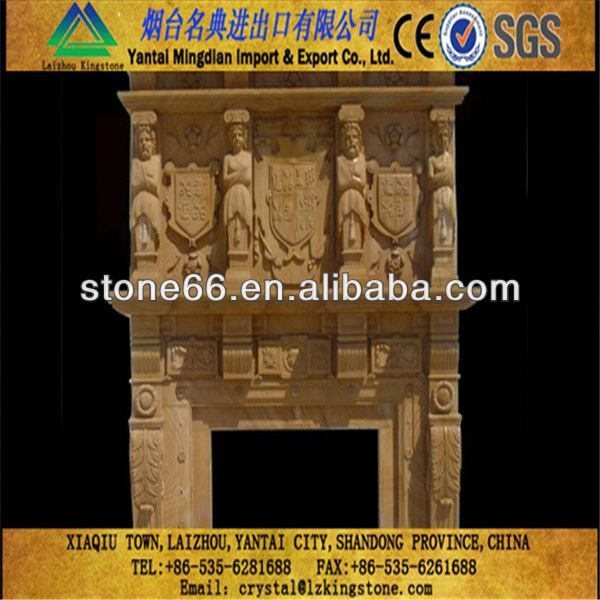 Beautiful cristina marble fireplaces mantel modern