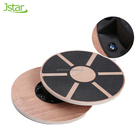 Fitness Equipment Anti Slip Surface Private Label Wooden Balance Board