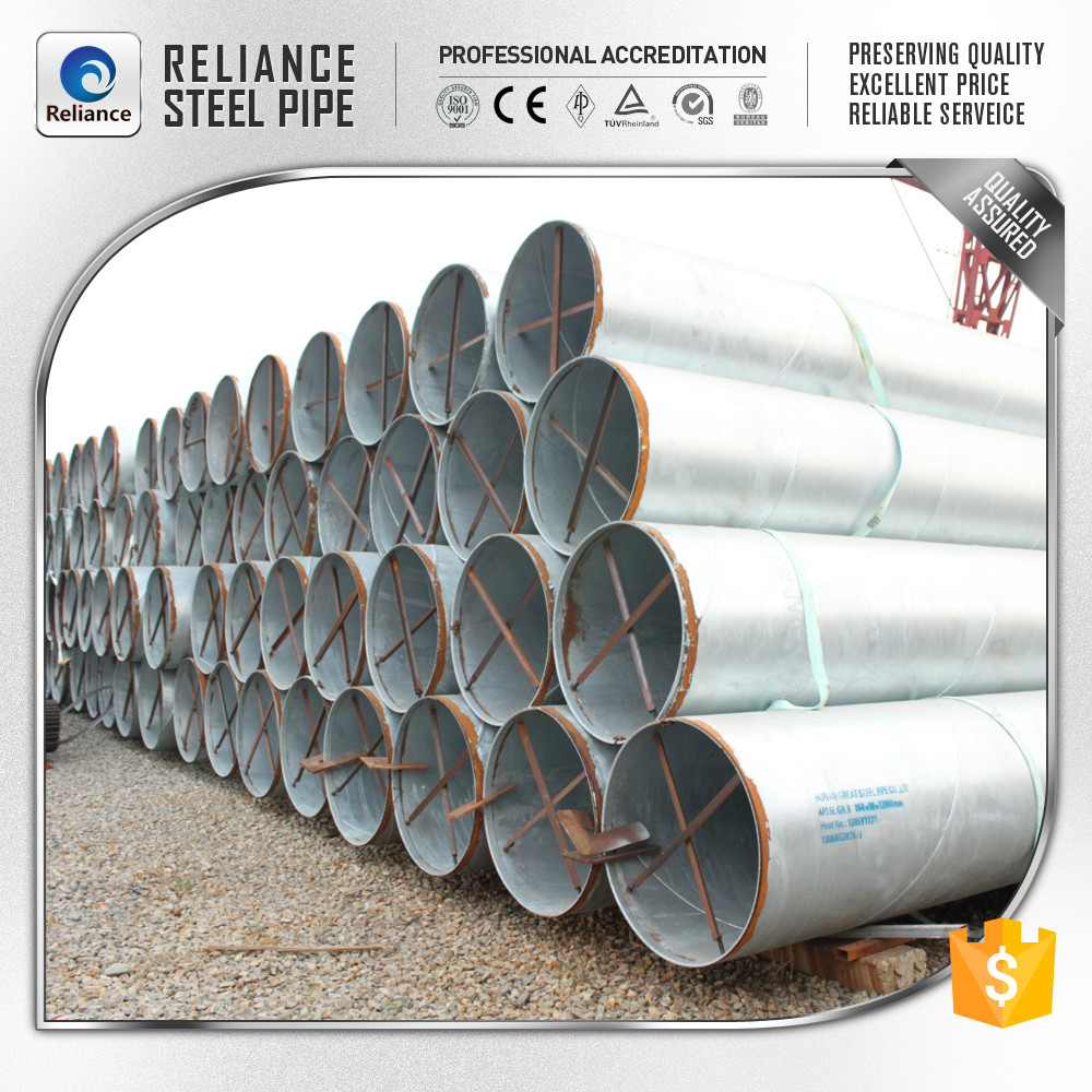 TWO-STEP SAWH WELDED SPIRAL STEEL PIPE(API/DNV/DEP/GB/DIN)