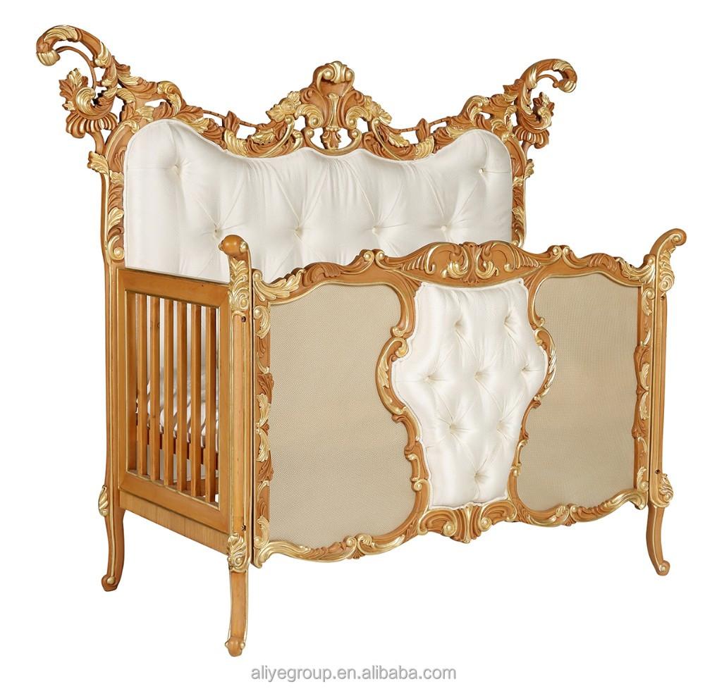 Ak27 antique de luxe bébé berceau turquie/lit bébé lit/lits bébé ...