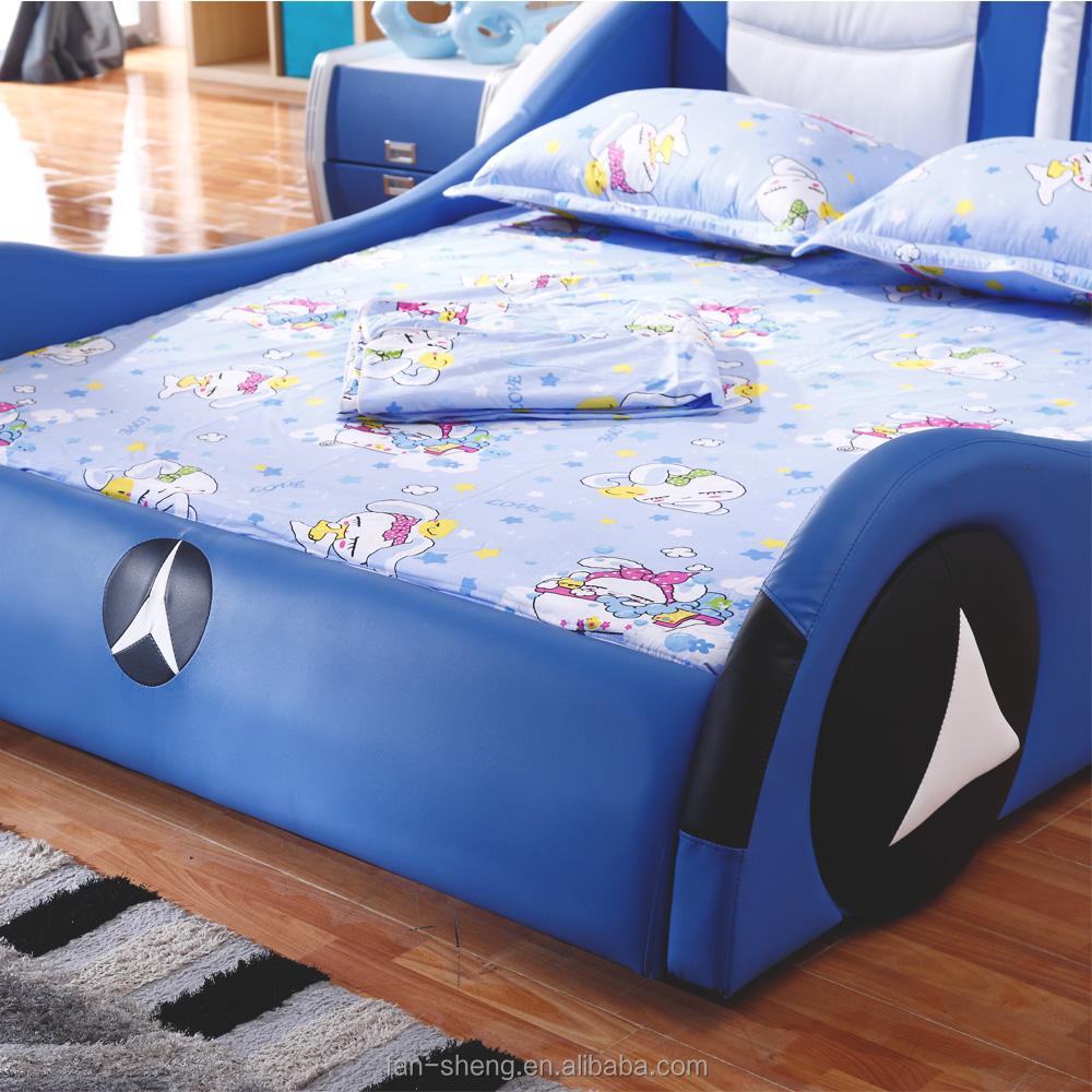Fansheng bmw auto stijl kinderen bed, volwassen kinderen auto bed ...