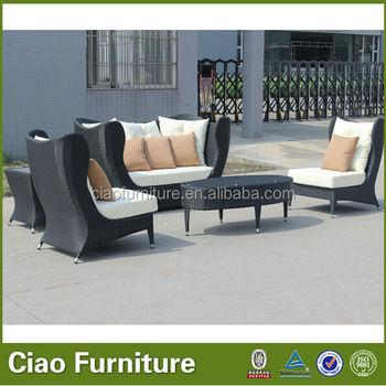 Bamboo Rattan Corner Sofa Furniture Of Cavite