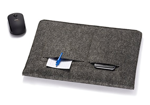 Multifunction Felt Sleeves for Notebook laptop With Pocket Inside Laptop Sleeve Case
