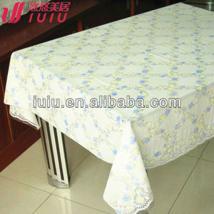 White Vinyl Lace Tablecloth Supplieranufacturers At Alibaba