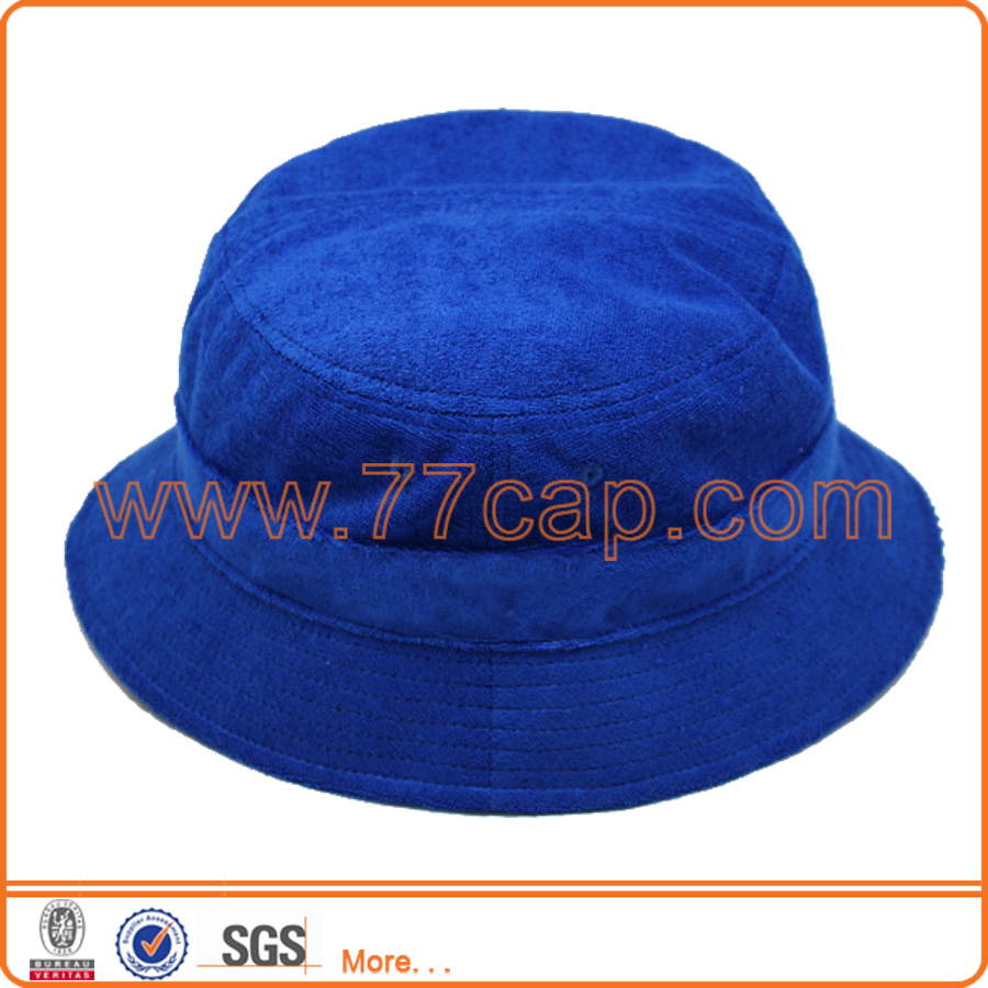 Superior Quality Blank Terry Cloth Terry Toweling Bucket Hat