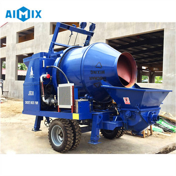 China quality 40m3/h concrete mixer with pump portable on sale