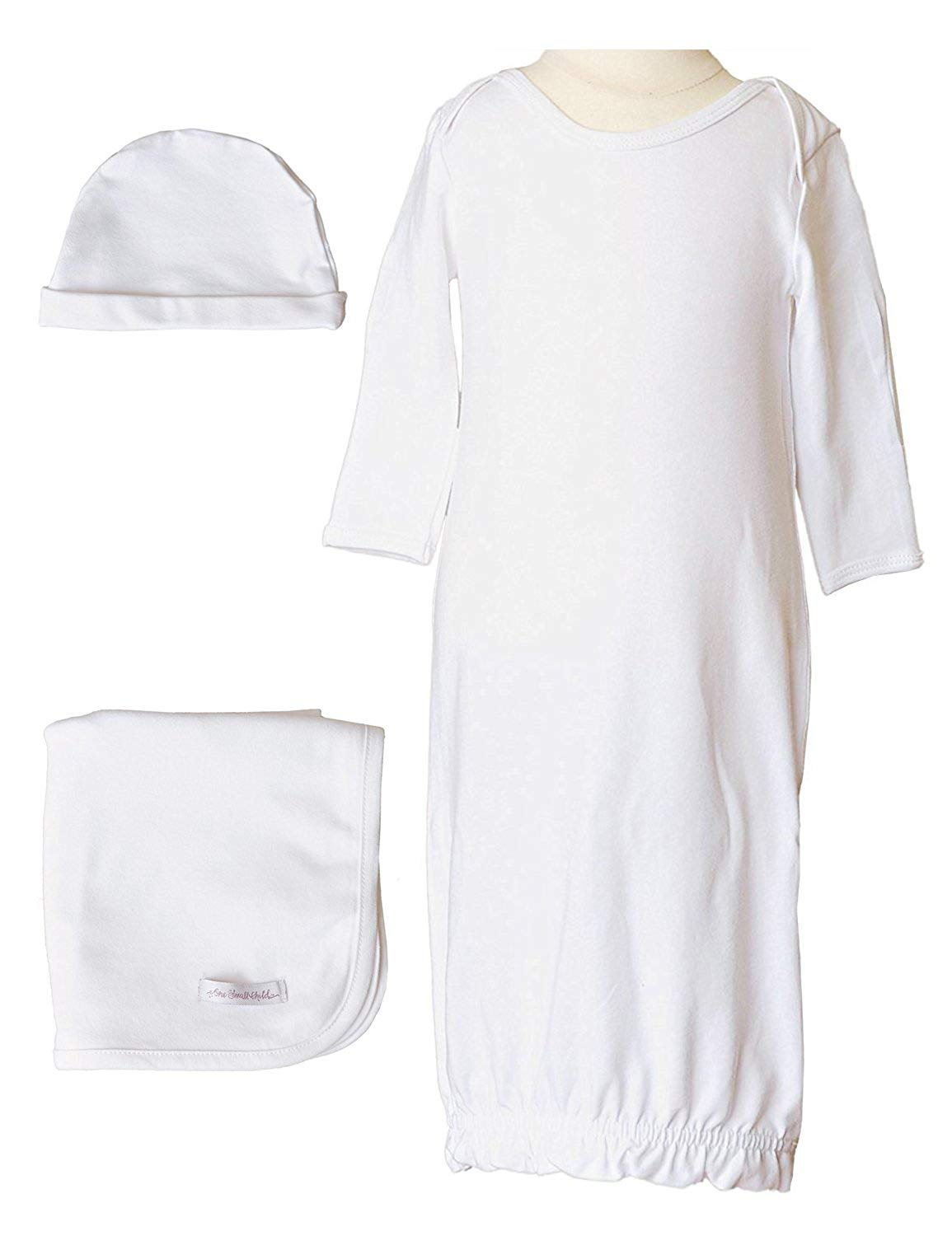 c9b5d3e169ef92 Get Quotations · One Small Child Boys Three-Piece Bamboo Layette Set