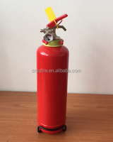 1KG ABC 40% Dry Powder Fire Extinguisher with wall bracket , ISO standard