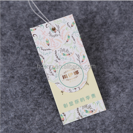 Custom craft paper hangtag/price tag(A-116)