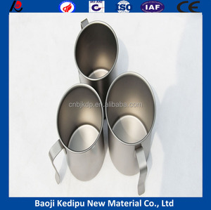 Supply custom printed Outdoor Camping Titanium Cup Outdoor Tableware.