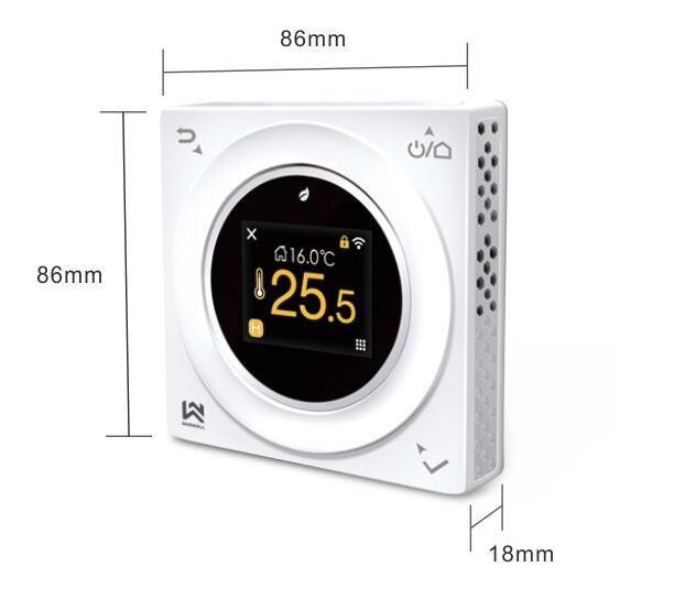 Saswell Day Programmable Electric Heat Element Thermostats With - Heated floor timer