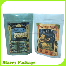 plastic animal food pouch with zipper