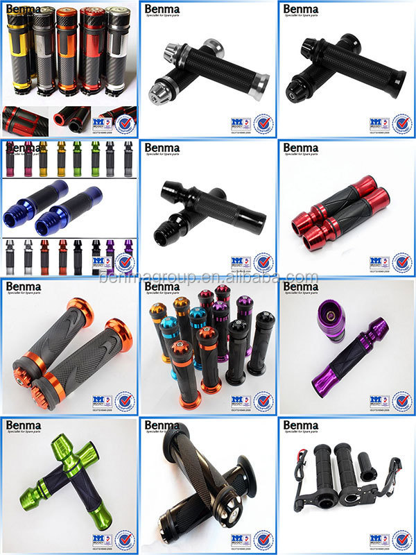 Handlebar Motorcycle Motorbike Scooter Rubber Universal Handle Grips