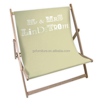 custom logo couple deck chairs double deck chairs buy wooden deck