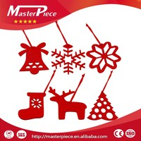 Wholesale good quality Christmas felt hanging wall decoration