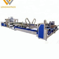 80% Discount Price Automatic 4/6 Corner Paperboard Carton Box Folder Gluer