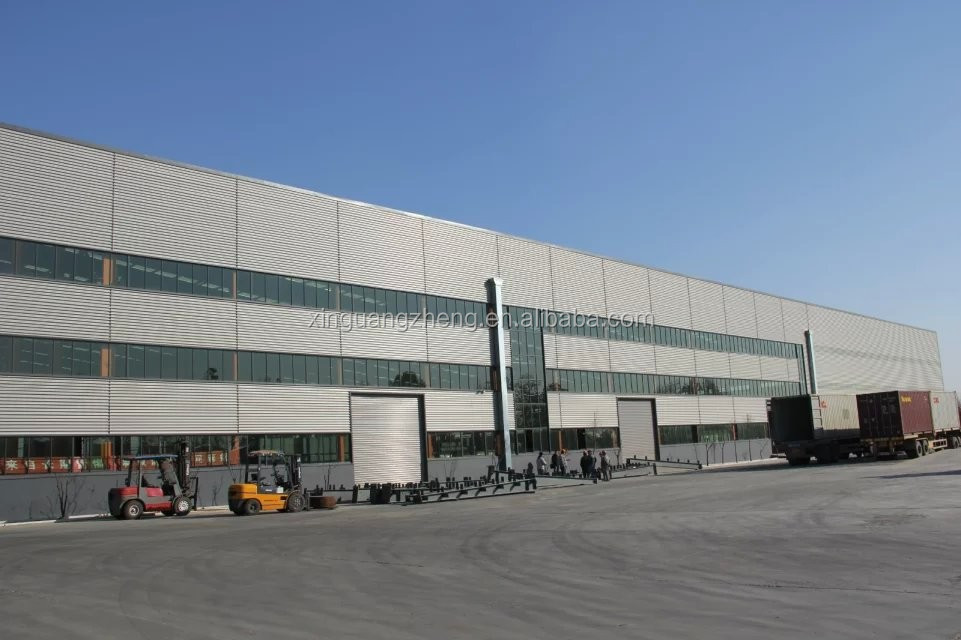 CE Certification Custom Pre-Engineered Steel Building