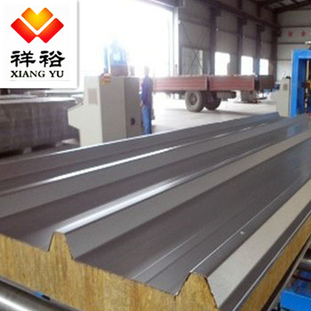 Container huis PU Sandwich Panel making machine