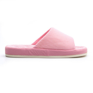 P-039A bulk sale factory breathable 3D mesh foam EVA massage outsole light weight slippers lady