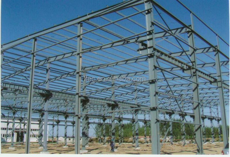 Light Weight Prefabricated Two Story Steel Structure Warehouse