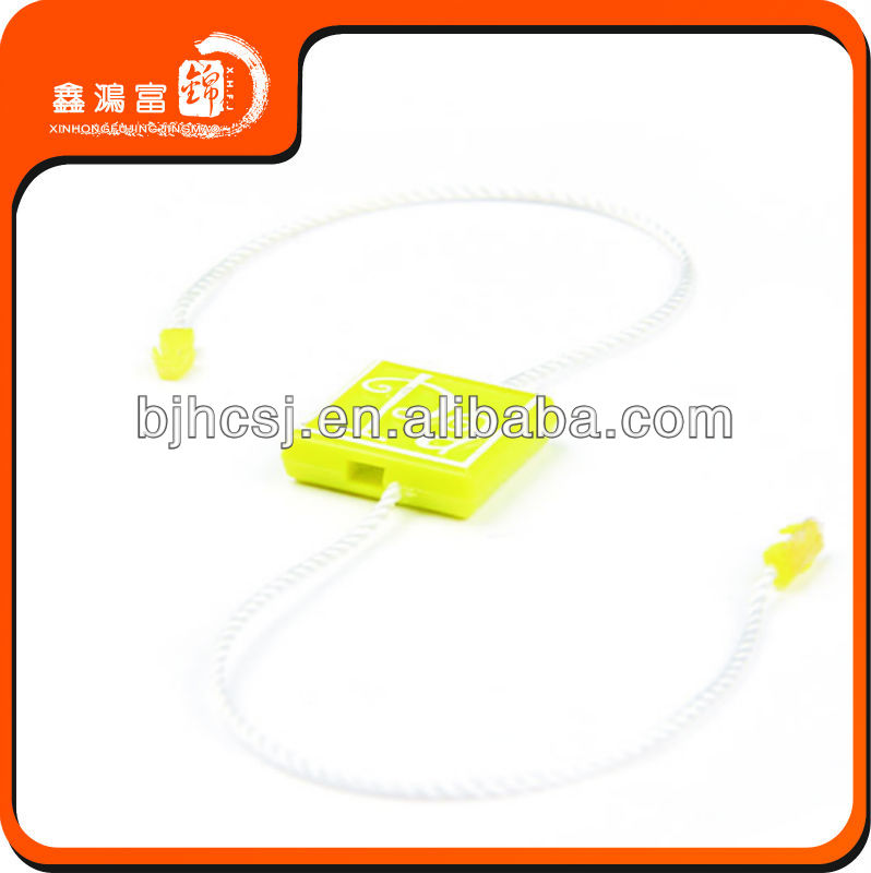enviroment friendly plastic number tag for clothing