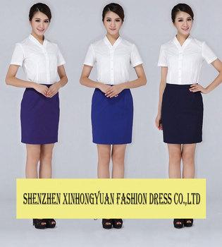 Hot Sale Elegant Skirt Suit Flight Attendant Uniform Fashion Skirt