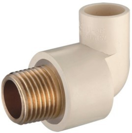 CPVC Male Elbow Copper Thread Plastic Pipe and Fittings