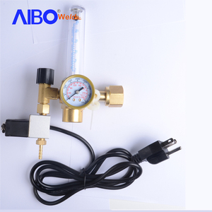 hydroponics co2 plant regulator with solenoid valve control co2 gas