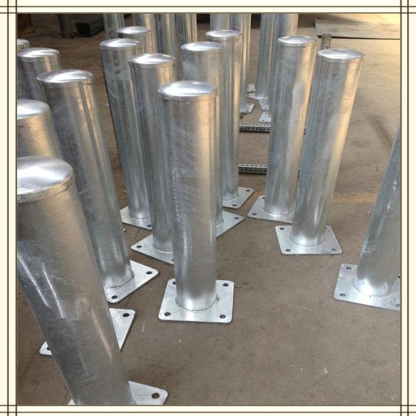 Safety Road Galvanized Steel Crash Barrier Posts Buy