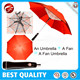 2016 newest Solar fan Umbrella,umbrella with fan