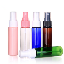 30ml Portable Refillable Plastic Fine Mist Perfume Make up Clear Empty Spray Bottle Cosmetic Atomizers PET Spray Bottles