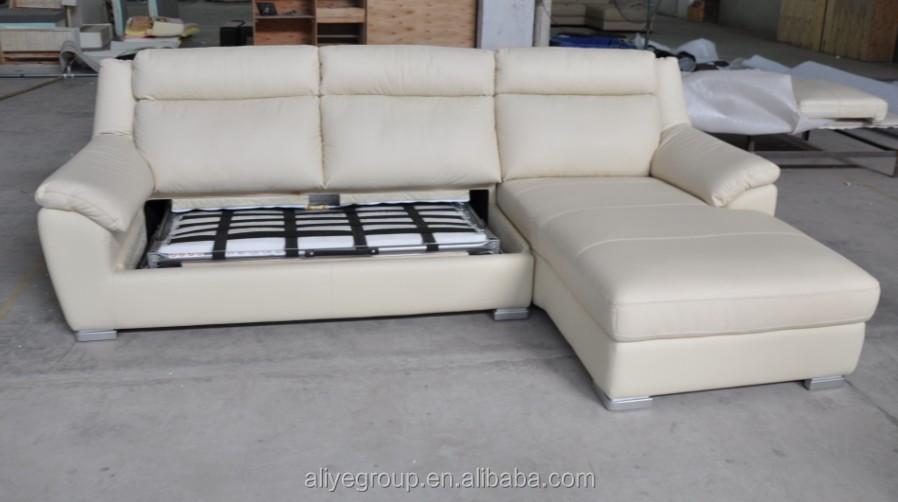 Echt Leren Slaapbank.As109 Fashionable Echt Moderne Lederen Sofa En Barokke Lederen