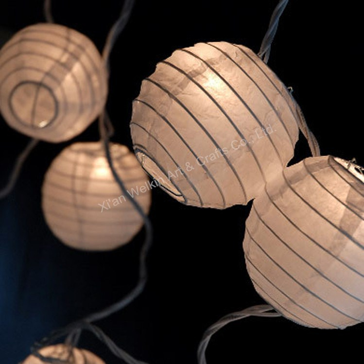 Holiday lighting led lantern decoration string lights