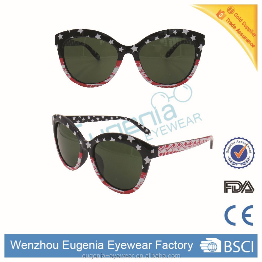 hot sale plastic sunglasses America style nice looking sunglasses