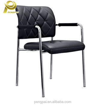 Factory Provide Ergonomic Leather Replacement Office Chair Parts Arms