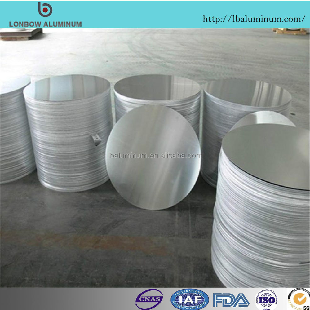 Manufacturer Flat Aluminum Circle For Light Cover