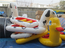 Cheap Animal used inflatable pontoon boats for kids