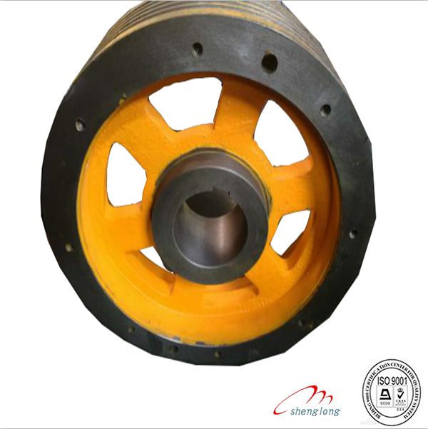 thyssen the traction wheel elevator wheel of elevator spare parts