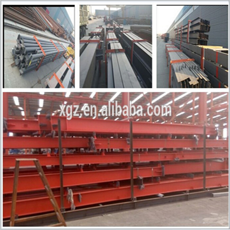 China manufacturer prefabricated two story steel structure building