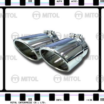 For Audi Q7 Stainless Steel Exhaust Tail Pipes Exhaust Tips Exhaust Muffler  - Buy Tail Pipe,Exhaust Tips,Exhaust Muffler Product on Alibaba com