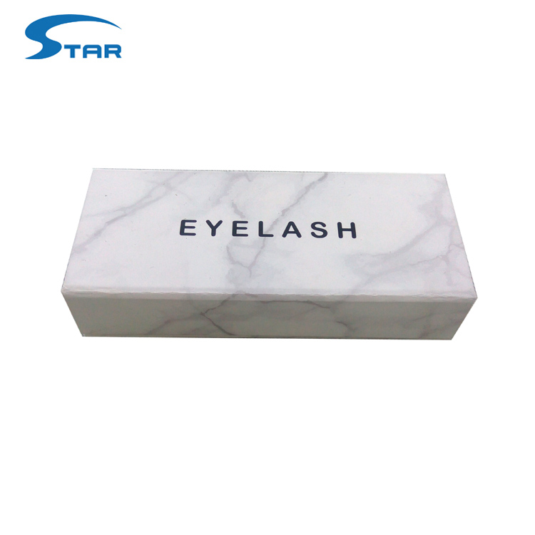 Private label custom mink luxury eyelash packaging box