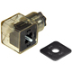 Din 43650-A Line-Socket Plug for Valve Solenoid Coils Connector DIN43650A Led Indicator DC VOLT
