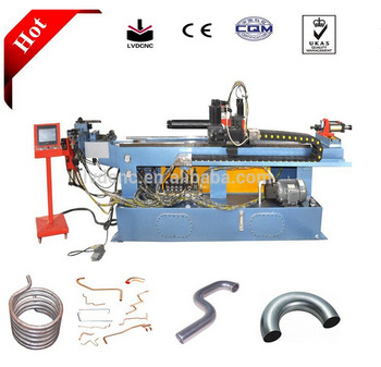Single head cnc 3d horizontal pipe bender/tube bender