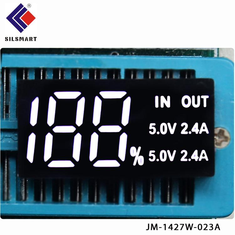purple fnd module 4digit 0.20inch custom seven 7 segment led display for Suction blower