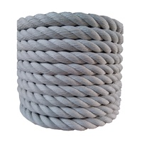 High Strength 3 Strand Twisted Danline Polypropylene 16mm PP Braided Rope